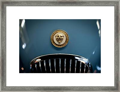 1952 Jaguar Hood Ornament Framed Print