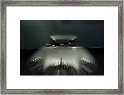 1952 Mercedez Benz Framed Print by Randy J Heath