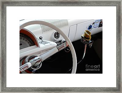 1952 Mercury Interior Framed Print by Bob Christopher