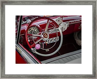 1953 Ford Crestline Victoria Framed Print by Susan Candelario