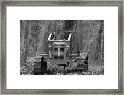 1953 Oliver Tractor Framed Print