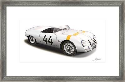 1953 Porsche Glockler Framed Print