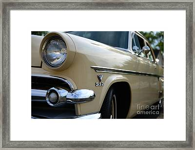 1954 Ford Customline Front End Framed Print by Paul Ward