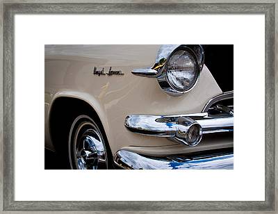 1955 Dodge Royal Lancer Sedan Framed Print by David Patterson
