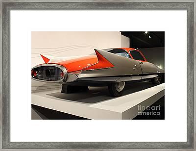 1955 Ghia Streamline X Gilda Concept Car - 7d17263 Framed Print by Wingsdomain Art and Photography