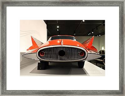 1955 Ghia Streamline X Gilda Concept Car - 7d17264 Framed Print by Wingsdomain Art and Photography