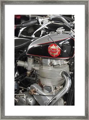 1956 Bsa Gold Star Tt Flat Track Racer Motorcycle Framed Print