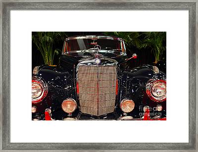 1956 Mercedes-benz 400 Sc . 7d9177 Framed Print by Wingsdomain Art and Photography