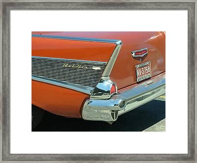 1957 Chevy Belair Framed Print