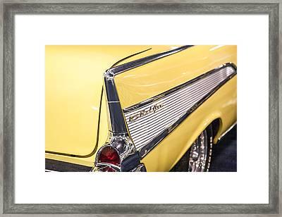 1957 Chevy Belair Framed Print by Kathleen Nelson