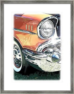 1957 Chevy Framed Print by Steve McKinzie