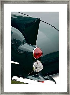 1957 Dual-ghia Convertible  Taillights Framed Print by Jill Reger