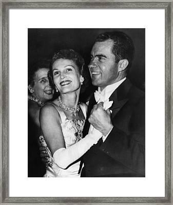 1957 Presidential Inauguration.  Vice Framed Print by Everett