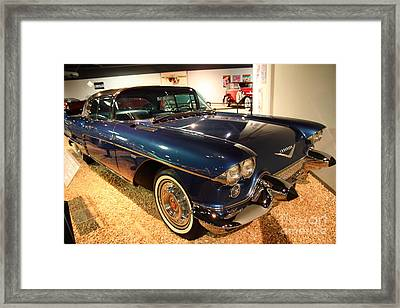 1958 Cadillac Eldorado Series 70 Brougham Framed Print by Wingsdomain Art and Photography