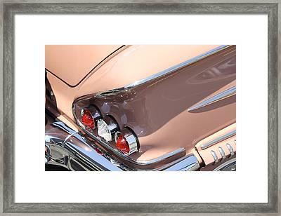 1958 Chevrolet Framed Print by Mike McGlothlen