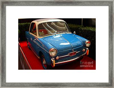 1959 Autobianchi Bianchina Transformabile Framed Print by Wingsdomain Art and Photography