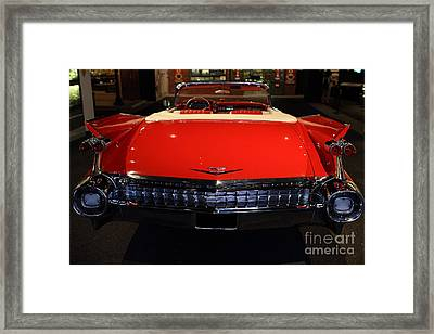1959 Cadillac Convertible - 7d17377 Framed Print by Wingsdomain Art and Photography