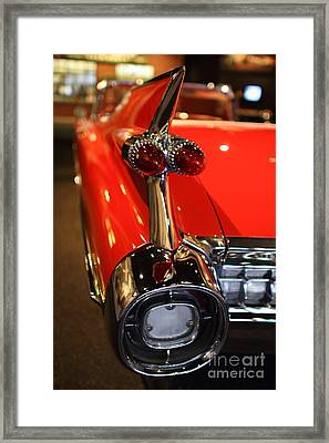 1959 Cadillac Convertible - 7d17385 Framed Print by Wingsdomain Art and Photography