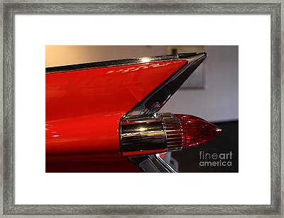 1959 Cadillac Convertible - 7d17386 Framed Print by Wingsdomain Art and Photography