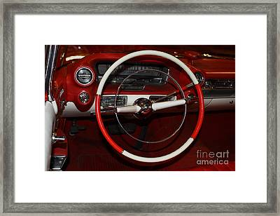 1959 Cadillac Convertible - 7d17387 Framed Print by Wingsdomain Art and Photography
