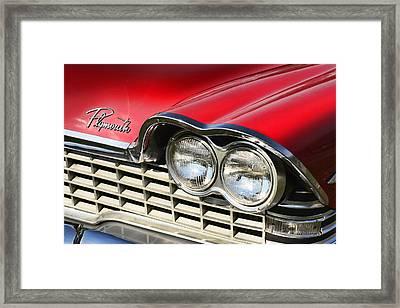 1959 Plymouth Sport Fury  Framed Print by Gordon Dean II