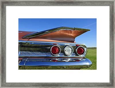 1960 Chevrolet Impala Resto Rod Taillight Framed Print