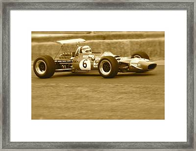 1960s Matra F1 Framed Print by John Colley