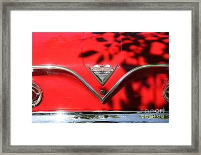 1961 Chevrolet Impala Ss Convertible . 5d16264 Framed Print by Wingsdomain Art and Photography
