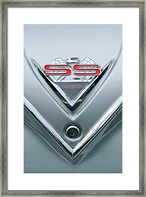1961 Chevrolet Ss Impala Emblem Framed Print by Jill Reger
