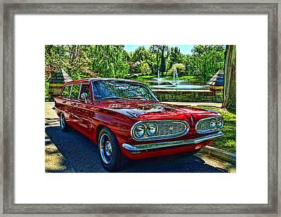 1961 Pontiac Tempest Station Wagon Framed Print