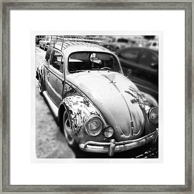 1961 Volkswagon Beetle Framed Print