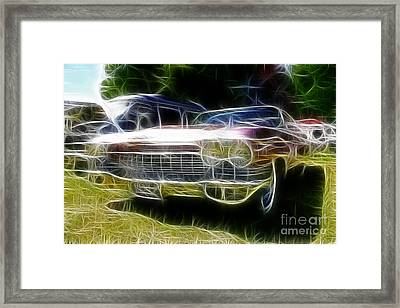 1962 Caddy Cadillac Framed Print by Paul Ward