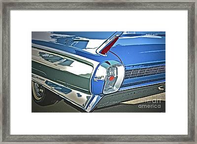 1962 Cadillac El Dorado Framed Print by Gwyn Newcombe