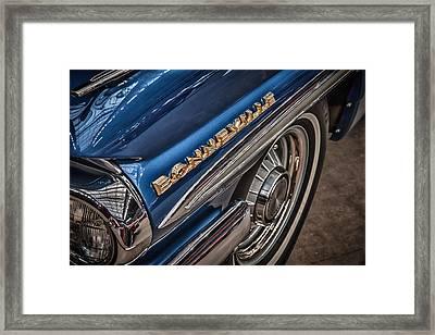 1962 Pontiac Framed Print by James Woody