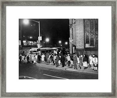 1963 March On Washington. In The Early Framed Print