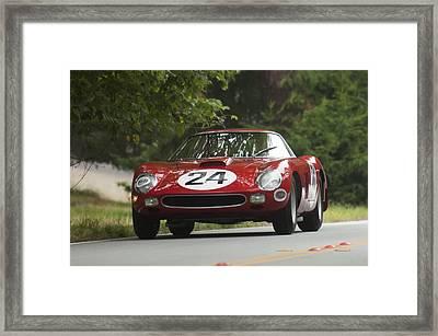1964 Ferrari 250 Gto 64 Scaglietti Berlinette Framed Print