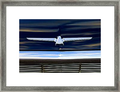 1964 Ford Thunderbird Emblem Framed Print