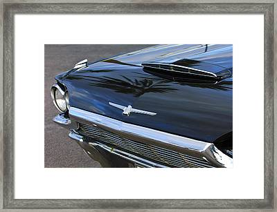 1964 Ford Thunderbird Front End Framed Print by Jill Reger