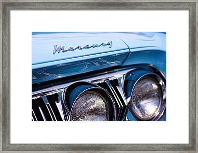 Framed Print featuring the photograph 1964 Mercury Park Lane by Gordon Dean II