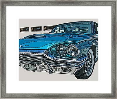 1965 Ford Thunderbird Framed Print