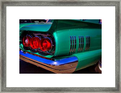 1966 Ford Thunderbird Framed Print by David Patterson