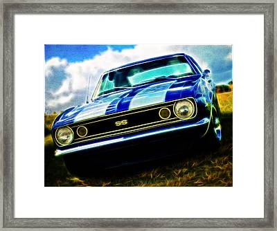 1967 Chevrolet Camaro Ss Framed Print by Phil 'motography' Clark