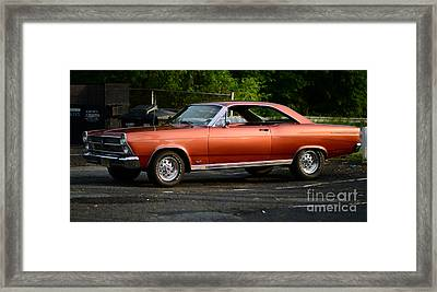 1967 Ford Fairlane 500 Framed Print by Paul Ward