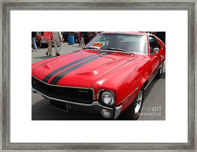 1968 Amx 7d15141 Framed Print by Wingsdomain Art and Photography