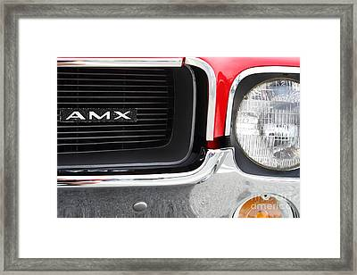 1968 Amx 7d15142 Framed Print by Wingsdomain Art and Photography