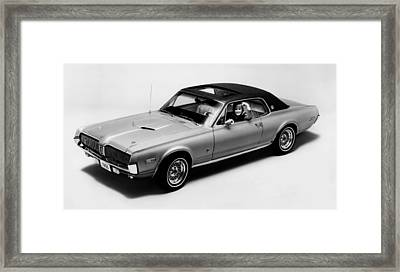 1968 Mercury Cougar Xr7-g, Sports Car Framed Print