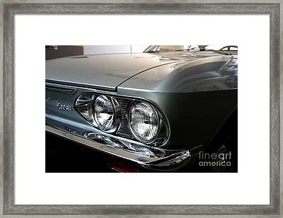 1969 Chevrolet Corvair 500 Framed Print by Wingsdomain Art and Photography
