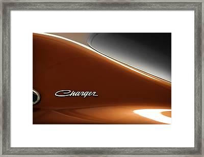 1969 Dodge Charger Daytona  Framed Print