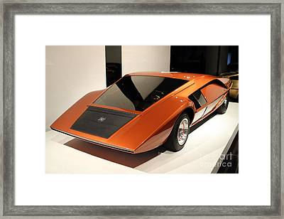 1970 Lancia Stratos Hf Zero - 7d17236 Framed Print by Wingsdomain Art and Photography