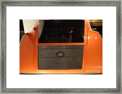 1970 Lancia Stratos Hf Zero - 7d17238 Framed Print by Wingsdomain Art and Photography